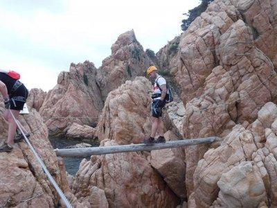 Via ferrata beginners Les Gorges de Salenys 2-3h