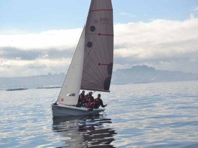 Light sailing course in Moaña