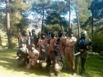 Team Building: Paintball, Valle del Jerte, 2h