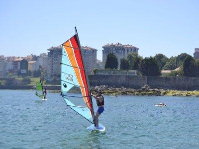 Windsurfing course in Moaña