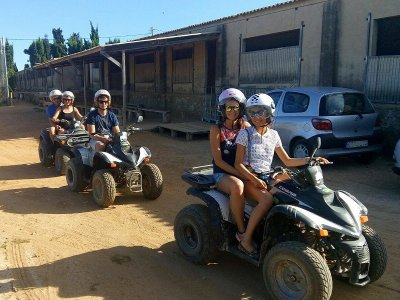 Quad Ride in Delta del Ebro 3 Hours