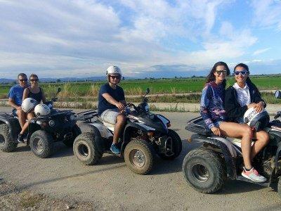 Two-Seater quad Bike Trip, Ebro Delta, 3h