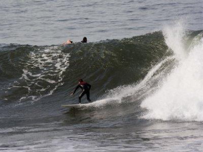Surfing course, Moaña