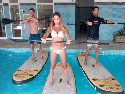 Aquapaddle in Alicante. exercise + music 1hour