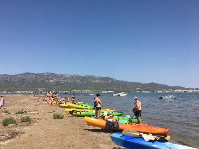 4-people kayak Ebro Delta 3h