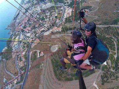 2-Seater Tandem Paragliding Almuñécar 15m