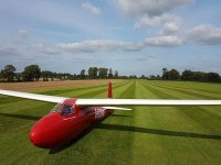 Our beautiful glider!
