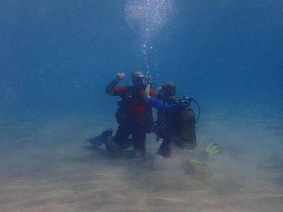 Diving session & full diving equipment Alicante