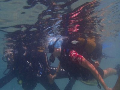 Double diving session + equipment