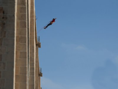 Two bungee jumps in Cieza