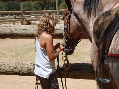 Horse-riding camp at Bierge kids, 1 week
