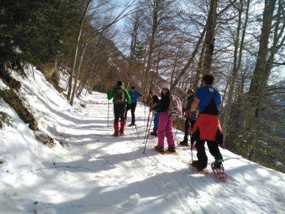 Snowshoes at Ordesa and Monte Perdido NP 5d