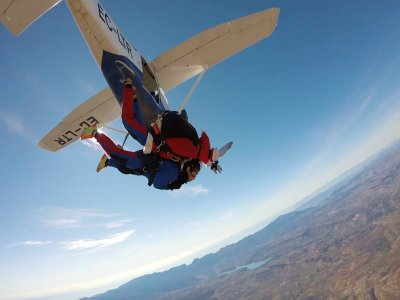 Skydiving Jump at Granada With Extern Video