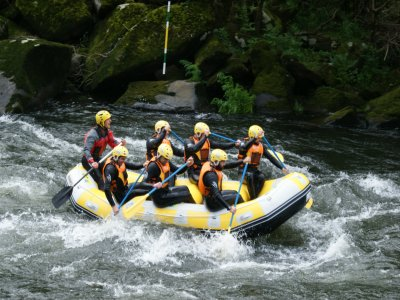 Adventure single party and camping in Padron