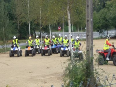 Quad ride in Padrón for 1h 30'