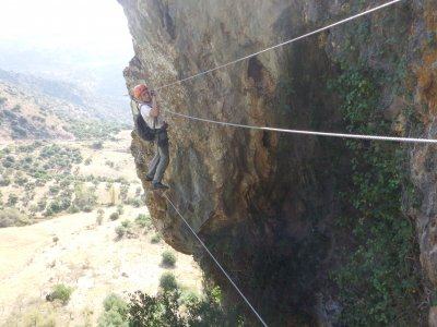 Atajate Via Ferrata Climb in Ronda, 2 Hours