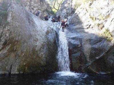 Canyoning descent Gorges del Llech, France