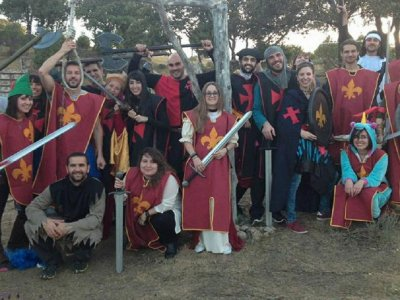 Hunger Games in the woods Madrid 2-3 hours