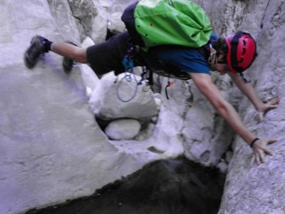 Canyoning in Barranco del Infierno, Alicante