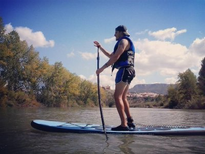 Trial bike, hiking and paddle surf in Cofrentes