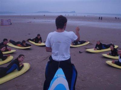 Welsh Adventures Surfing