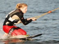 We will show you how to kneeboard first