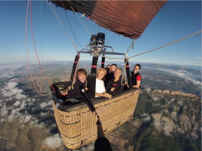 Balloon Ride w. Montserrat's Panoramic Views
