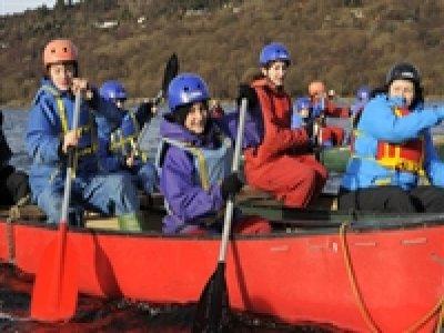 Blue Peris Mountain Centre Canoeing