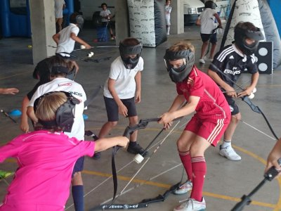 Home delivery archery tag Madrid 90 minutes