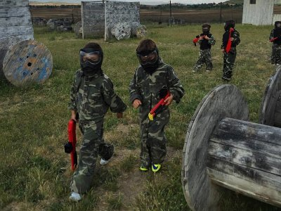 Children's Paintball and Mini Olympics in Algete