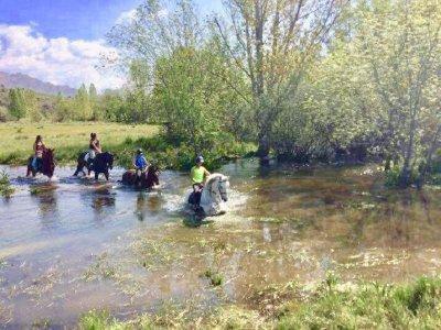 Horse-Riding Route and Briefing La Pedriza 2h