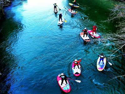 2h SUP tour across Cabriel River
