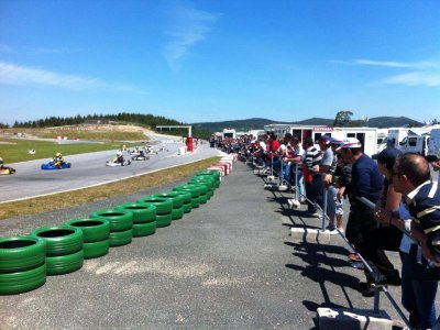 Karting lap at Valga outdoor, 8 min