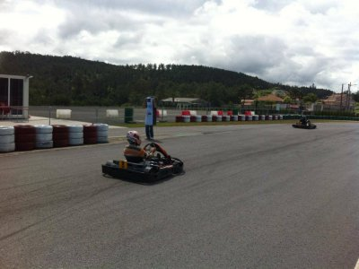 Karting GP championship at Valga