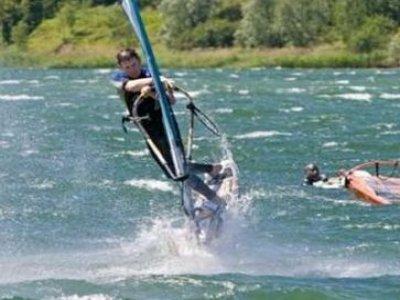 Willen Lake Windsurfing