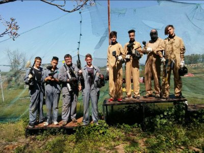 Paintball at La Carlota with 150 Balls + Equipment