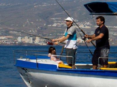 Halcón Blanco Pesca