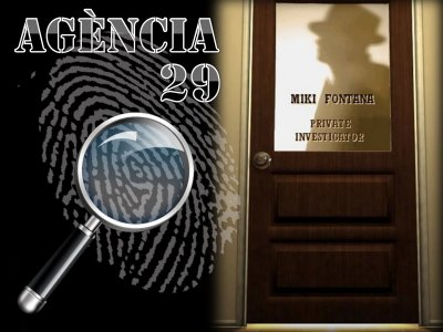 Agency 29 escape room in Barcelona, 1h