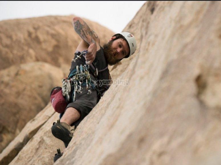 Climbing in Keswick