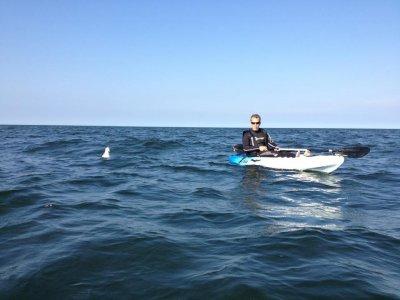 Hunstanton Kayaks Fishing