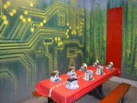 Excellent themed party rooms!