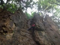 Climbing is a great activity to do.