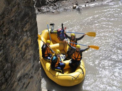 Rafting in Esera River