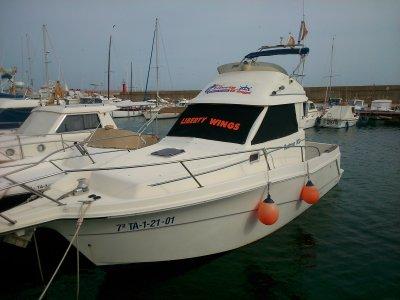 Boat rental at Ametlla De Mar, half day