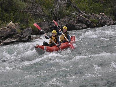 5-Mile Journey in Open Kayak