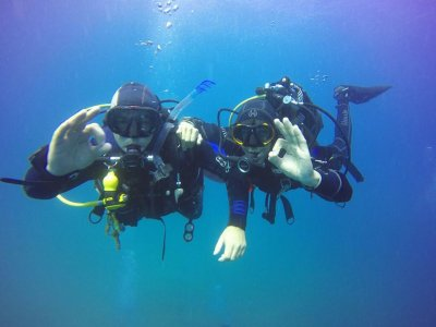 2 diving sessions Cabo Tiñoso + equipment