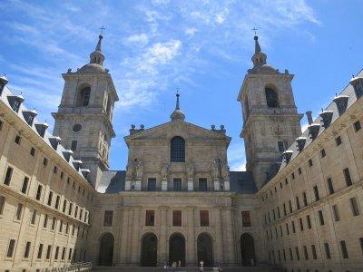 Visit El Escorial monastery + village, schools