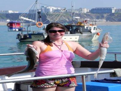 Newquay Sea Safaris and Fishing Fishing Boats