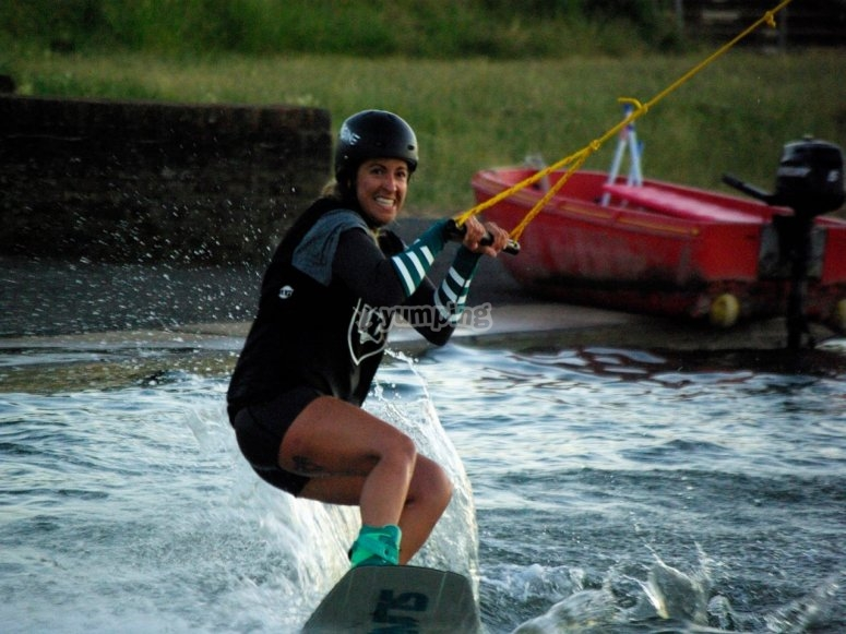Wakeboarding class