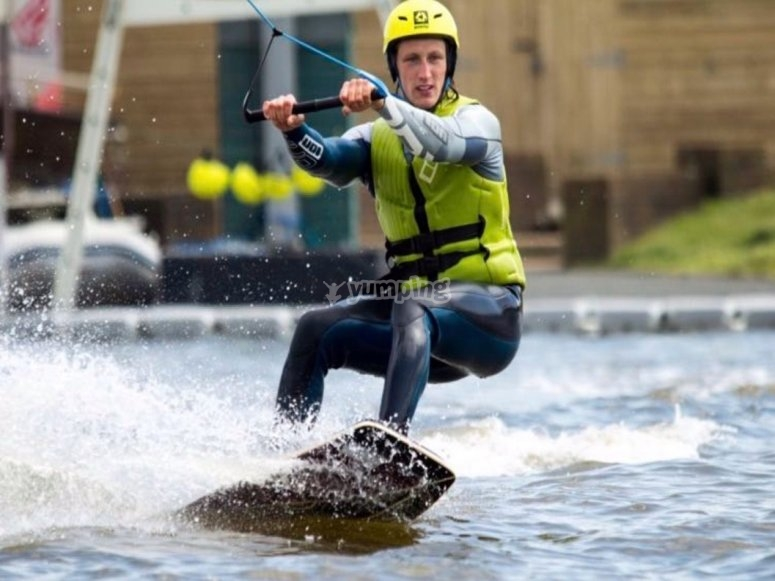 exclusive wakeboarding session